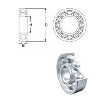 170 mm x 230 mm x 28 mm  ZEN 61934 deep groove ball bearings
