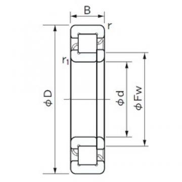 150 mm x 270 mm x 73 mm  NACHI NUP 2230 cylindrical roller bearings