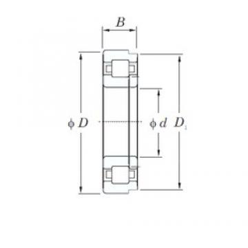 150 mm x 270 mm x 73 mm  KOYO NUP2230R cylindrical roller bearings